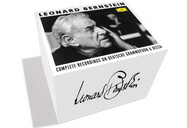 Leonard Bernstein Complete Works,   Deutsche Grammophon, 26CDS + 3 DVDS – Rezension
