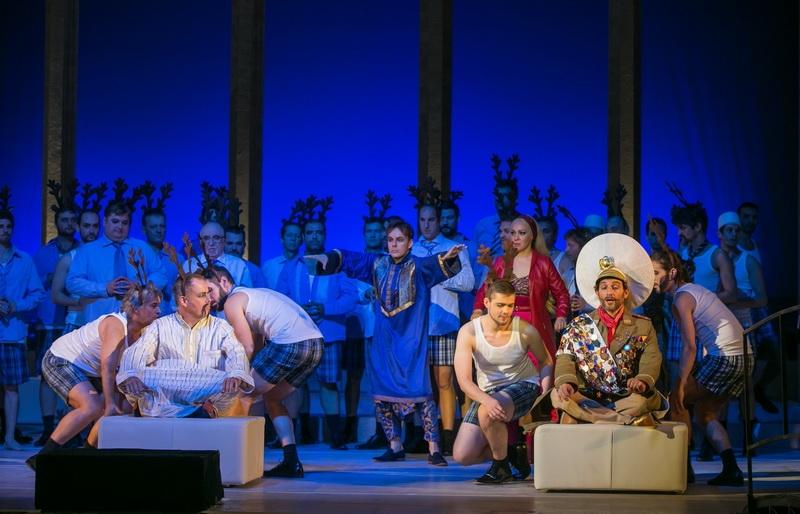 Gioachino Rossini, L'Italiana in Algeri,  Erkel-Theater, Budapest