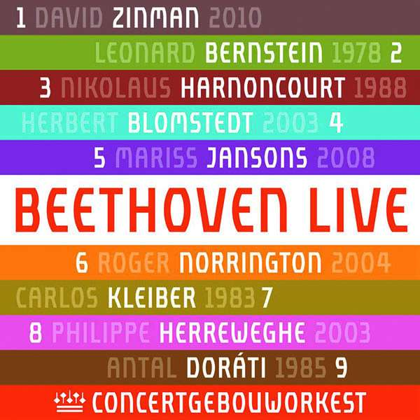 CD-Rezension: Beethoven live. Symphonien Nr. 1-9, Concertgebouworkest Live Recordings