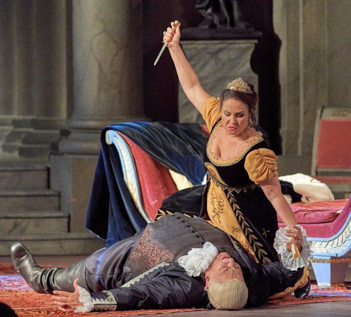 Giacomo Puccini, Tosca  Wiener Staatsoper, 21. Mai 2021