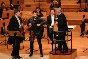 Symphoniker Hamburg, Sylvain Cambreling, Guy Braunstein, Maxim Rysanov  Laeiszhalle Hamburg, 20. September 2020