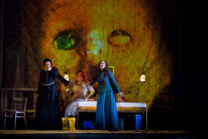 Richard Strauss, Die Frau ohne Schatten,  Landestheater Linz, Musiktheater