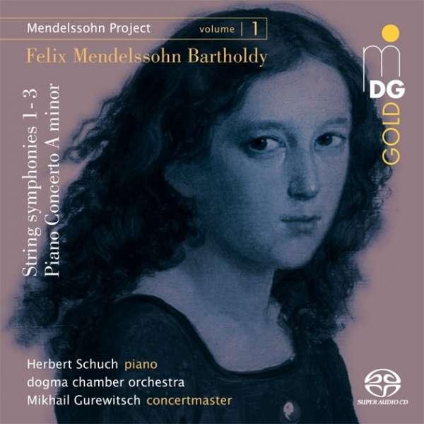 CD-Rezension: Mendelssohn Project Vol.1, Herbert Schuch, Dogma Chamber Orchestra, Mikhail Gurewitsch