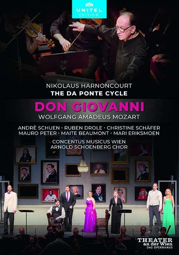 DVD-Rezension: W.A. Mozart, Don Giovanni, Nikolaus Harnoncourt