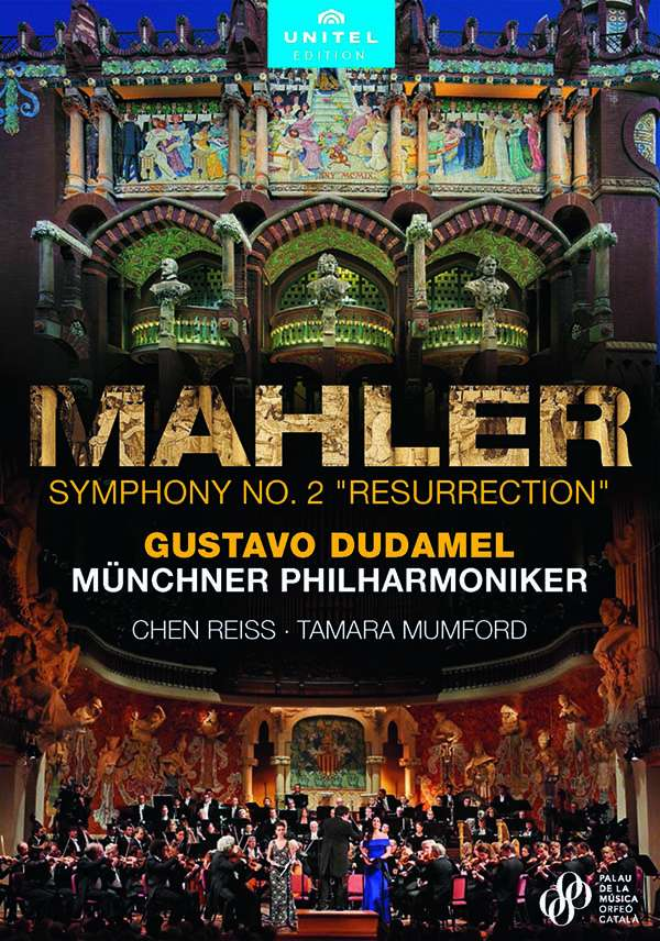 Dudamel dirigiert Mahler in Barcelona: Ein Fest für Auge und Ohr  CD-Besprechung