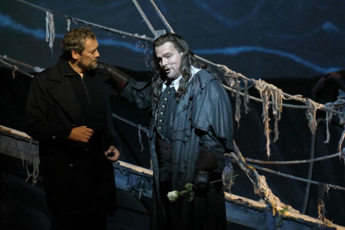 Richard Wagner, Der fliegende Holländer  Bayerische Staatsoper, Nationaltheater, 7. Juli 2021