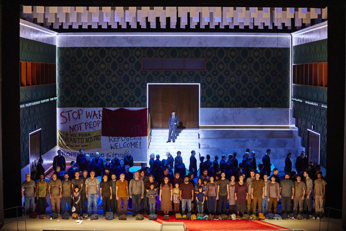 Giuseppe Verdi, Nabucco,  Hamburgische Staatsoper, 5. Oktober 2019