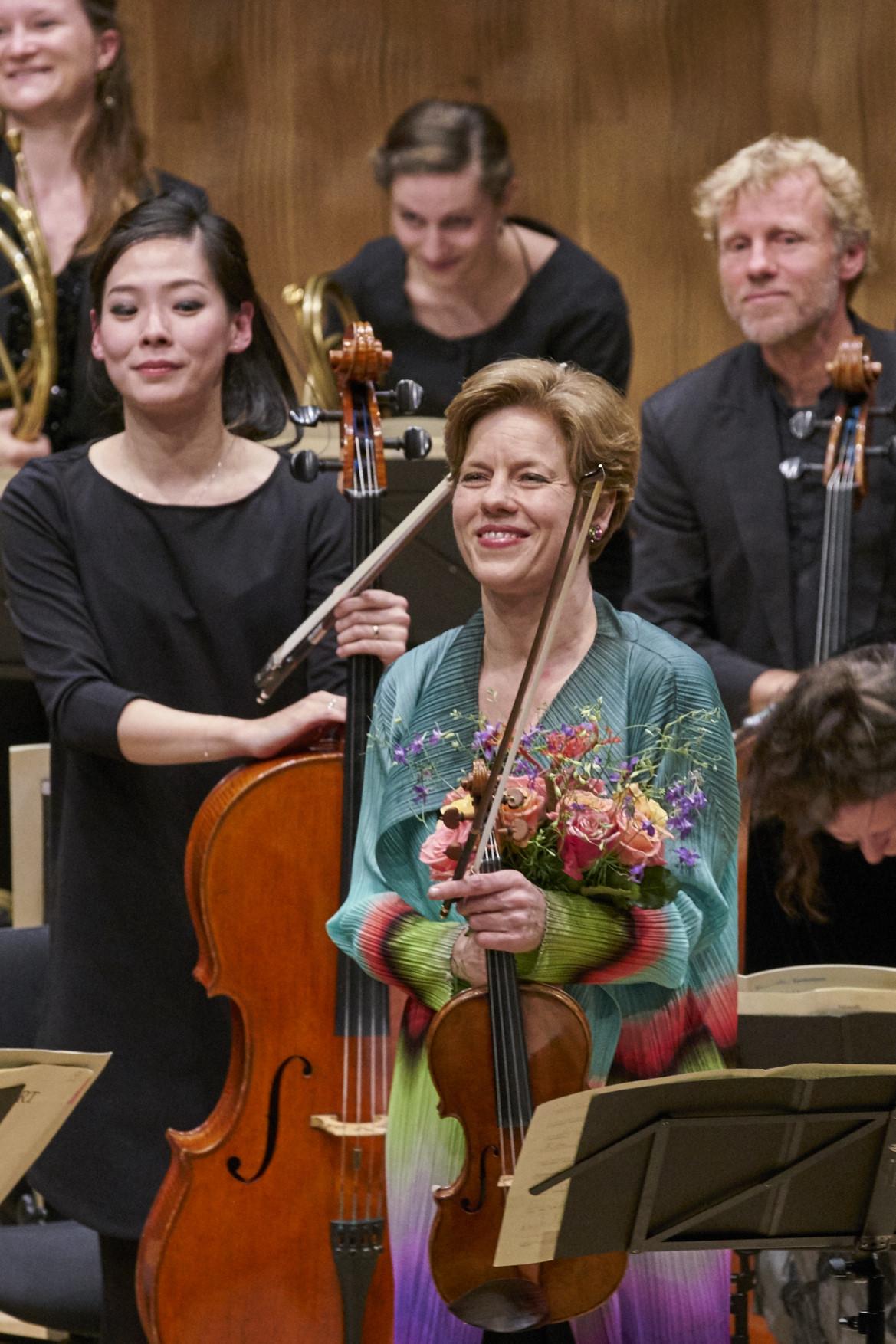 Ensemble Resonanz, Isabelle Faust, Joseph Bologne, W.A. Mozart  Elbphilharmonie