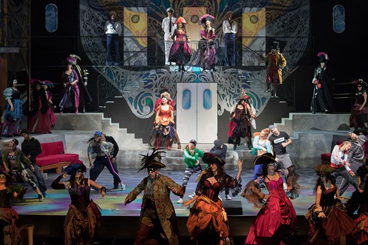 Johann Strauss, Eine Nacht in Venedig,  Landestheater Linz