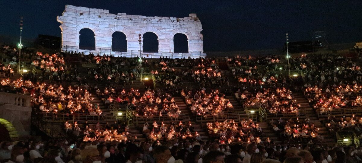 Giuseppe Verdi, Nabucco  Arena di Verona, 26. August 2021