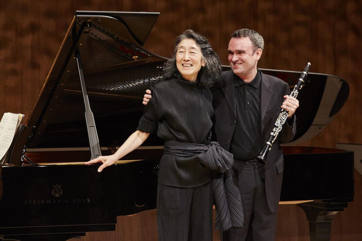 Jörg Widmann, Mitsuko Uchida, Brahms, Berg, Schubert, Schumann, Mendelssohn-Bartholdy,  Elbphilharmonie Hamburg