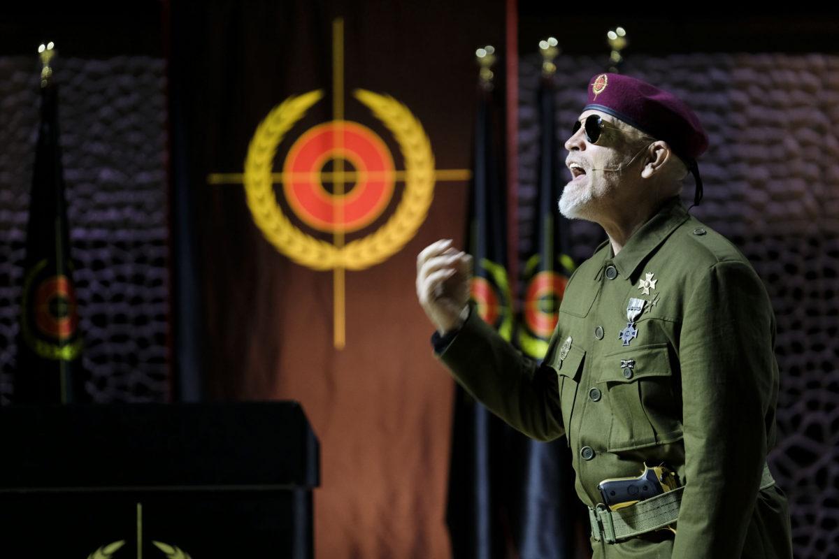 John Malkovich: Just Call Me God, A Dictator's Final Speech,  Elbphilharmonie Hamburg