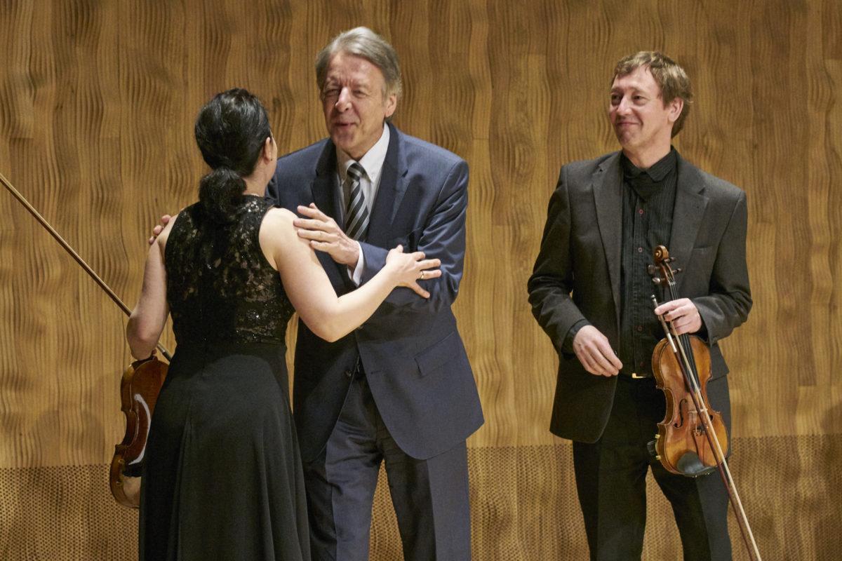 Minguet Quartett, Ulrich Isfort, Annette Reisinger, Aroa Sorin, Matthias Diener, Ludwig van Beethoven, Peter Ruzicka,  Elbphilharmonie