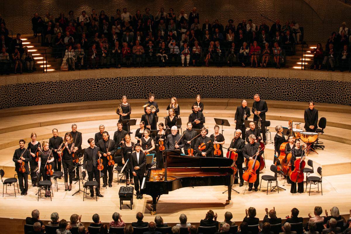 Academy of St Martin in the Fields, Kit Armstrong, Tomo Keller, Benjamin Britten, Wolfgang Amadeus Mozart,  Elbphilharmonie