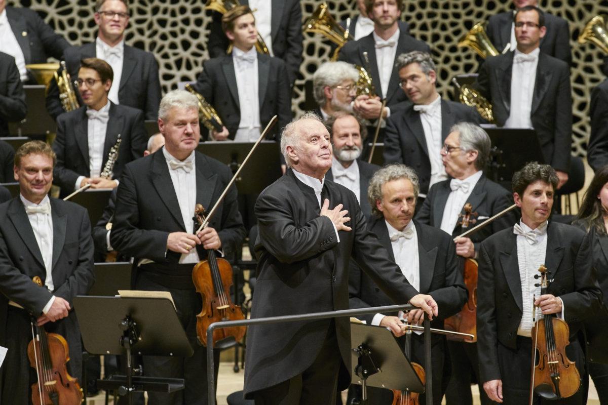 Daniel Barenboim, Staatskapelle Berlin, Richard Wagner, Anton Bruckner,  Elbphilharmonie