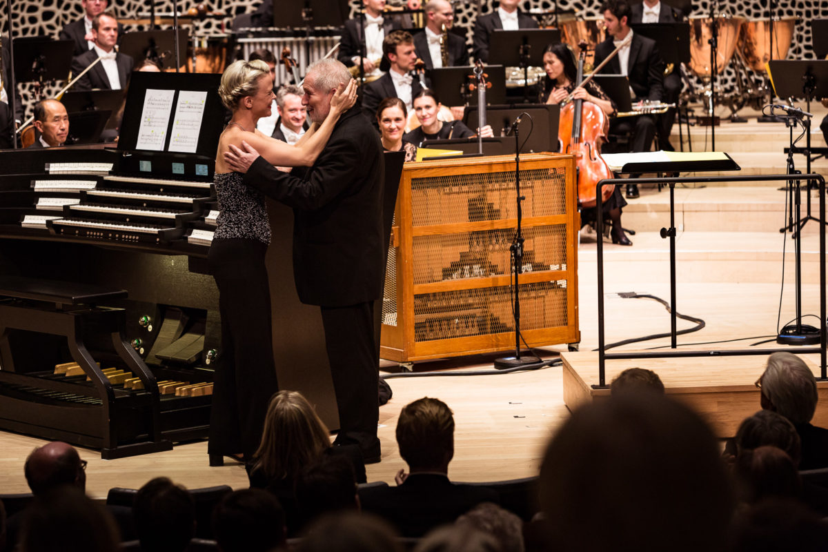 Royal Concertgebouw Orchestra, Peter Eötvös, Iveta Apkalna ,  Elbphilharmonie Hamburg