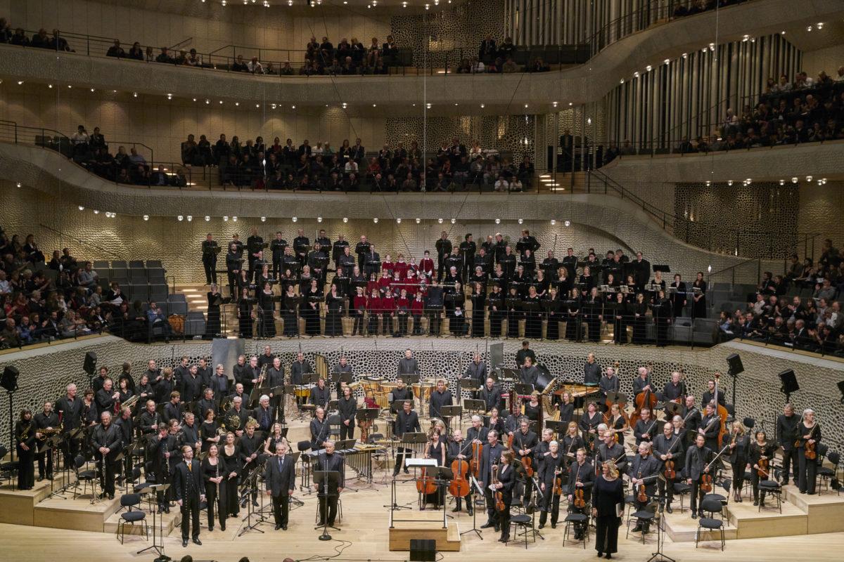 Hans Werner Henze, Das Floß der Medusa,  Elbphilharmonie, Hamburg