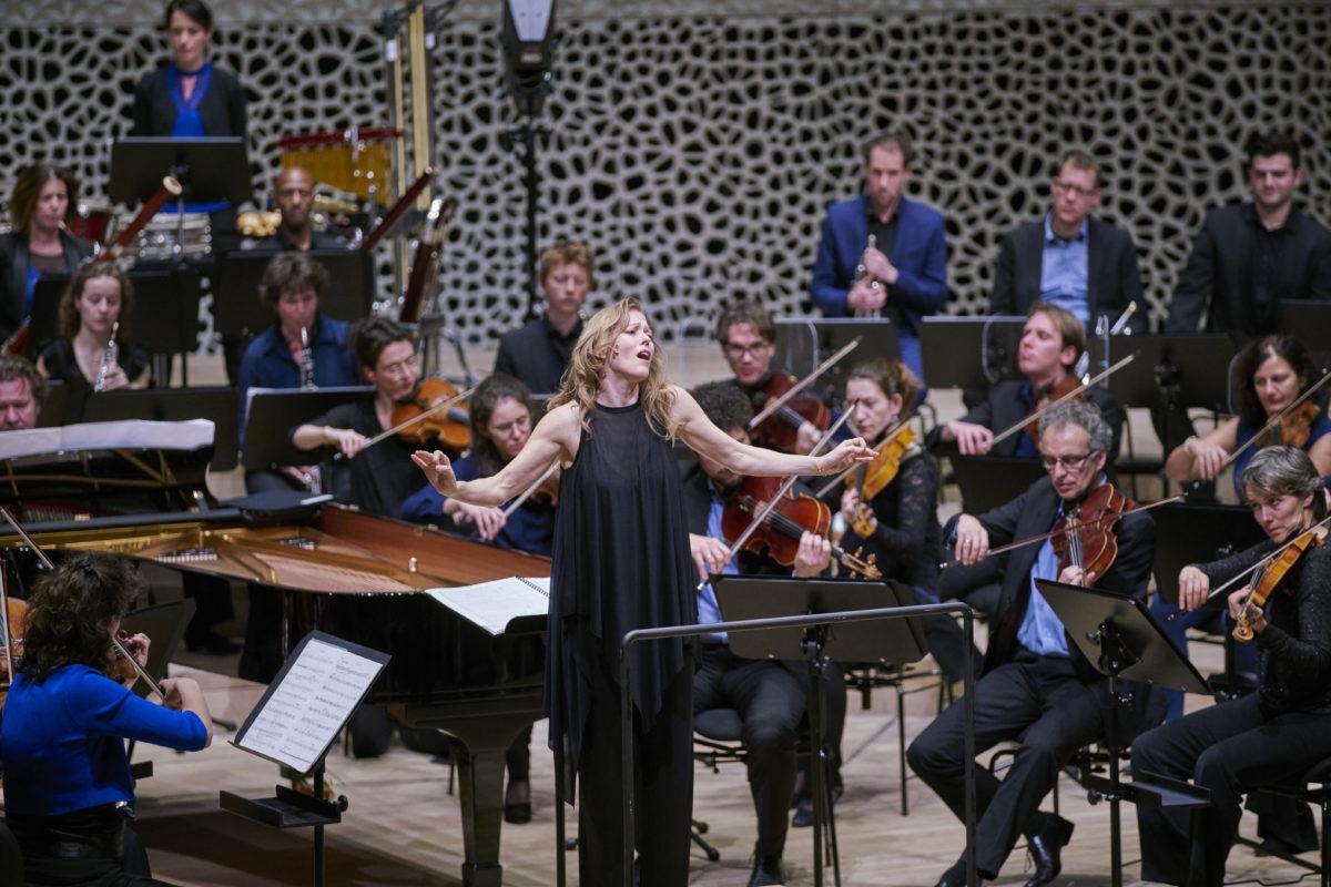 Barbara Hannigan,  Elbphilharmonie, Hamburg