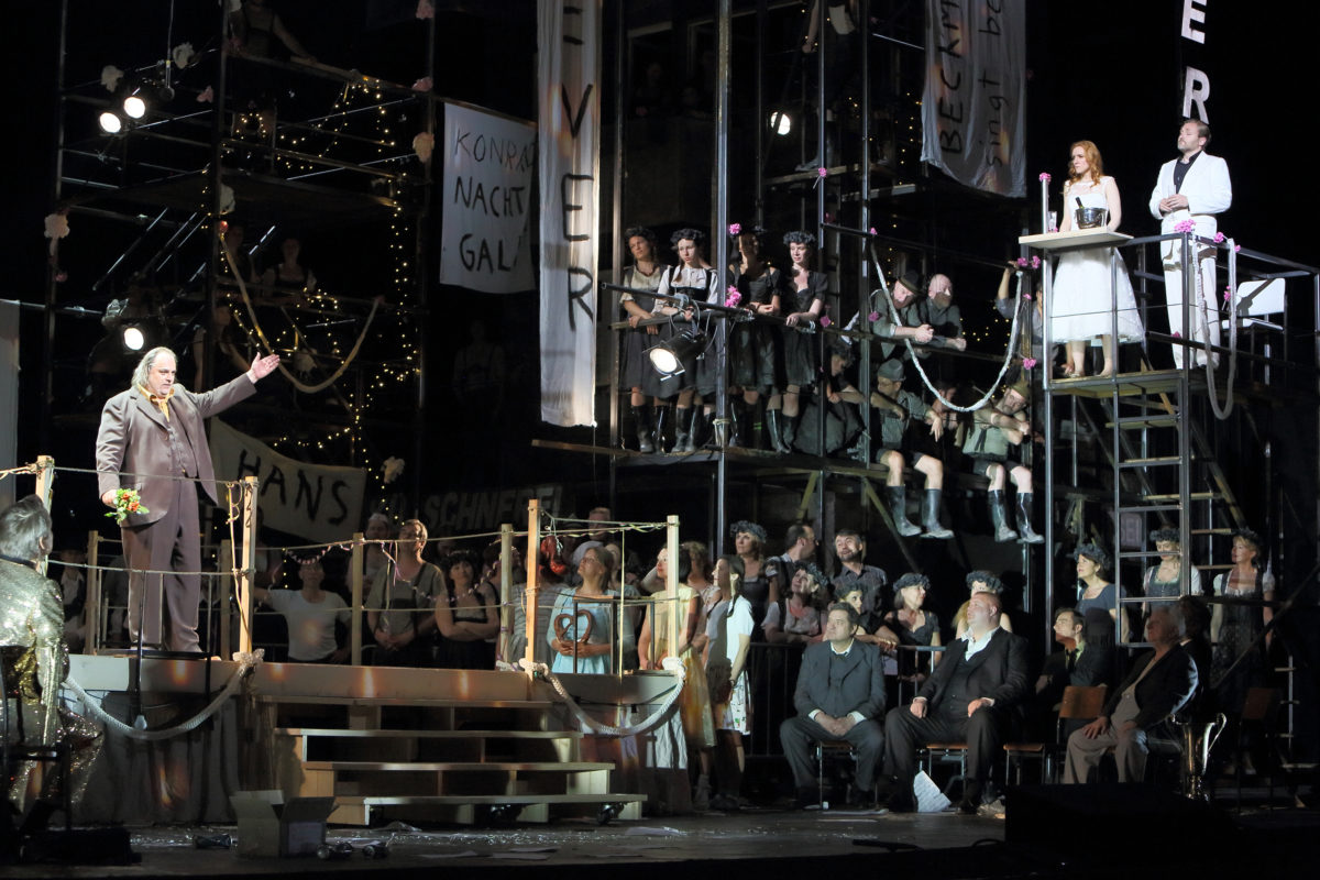 Richard Wagner, Die Meistersinger von Nürnberg,  Bayerische Staatsoper, 27. Juli 2019