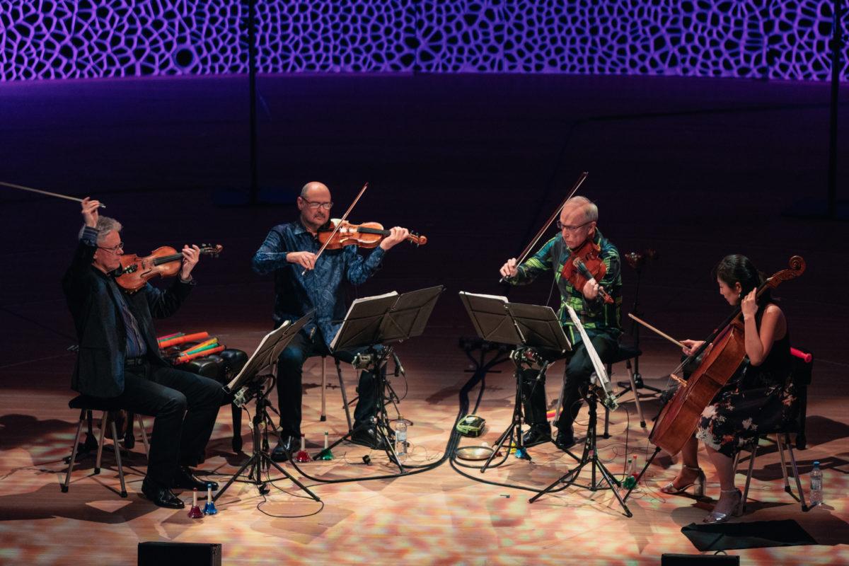 Kronos Quartet, Elbphilharmonie Hamburg, 8. Mai 2018