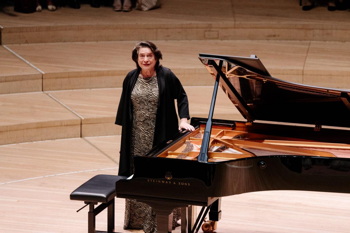 Elisabeth Leonskaja,  Elbphilharmonie Hamburg