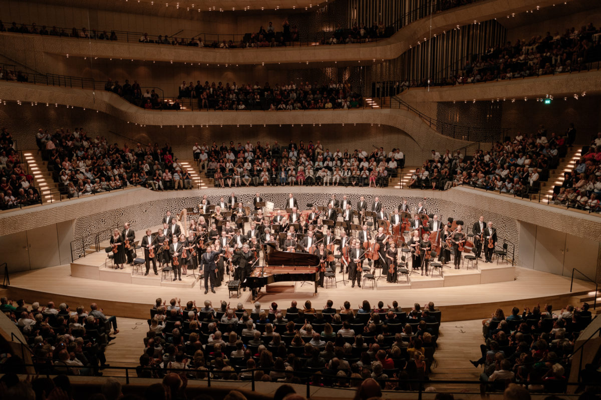 Bergen PhilharmonicOrchestra, Leif Ove Andsnes, Edward Gardner,  Elbphilharmonie Sommer 2018, Elbphilharmonie Hamburg