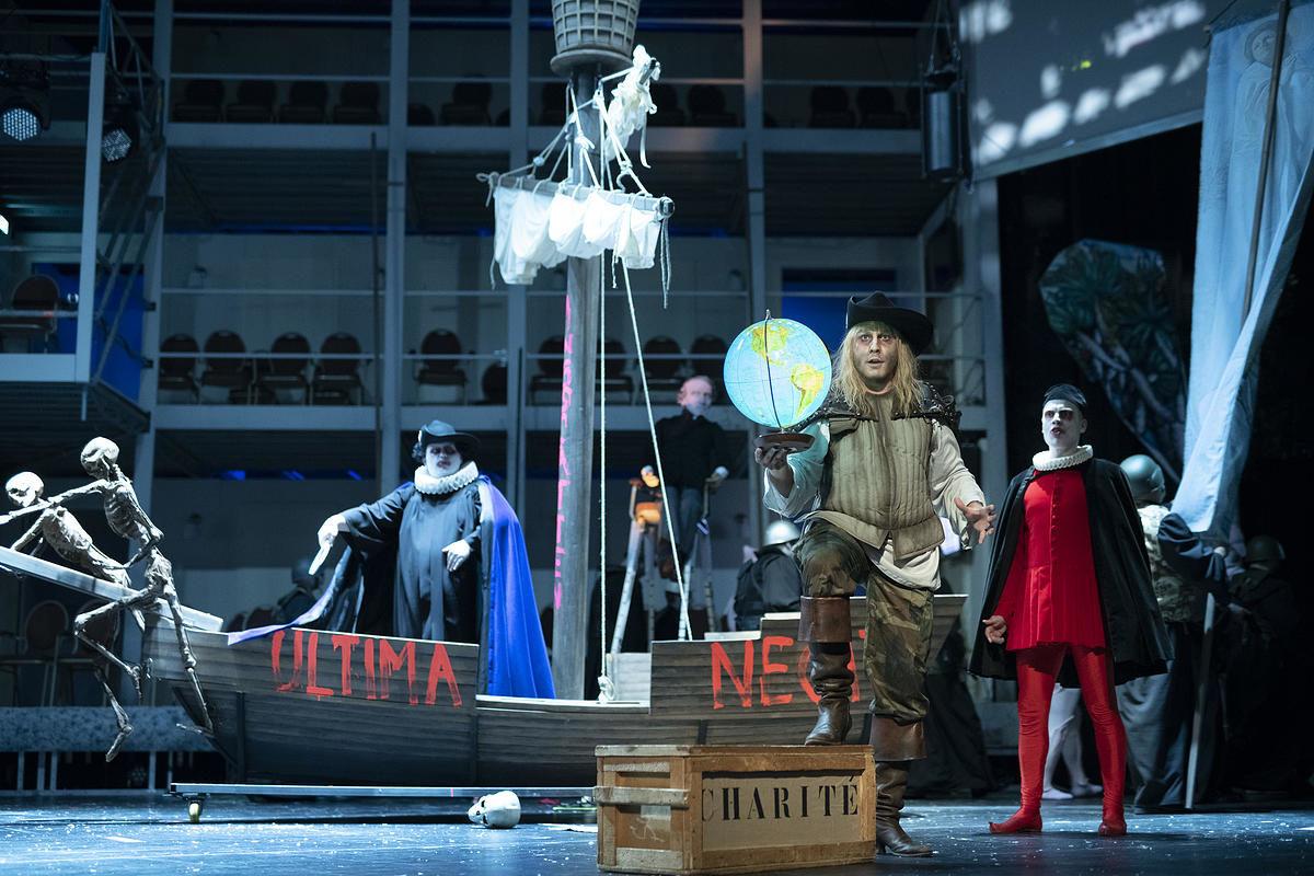 Giacomo Meyerbeer, L'Africaine / Fotouona Djami Yélé,  Oper Halle