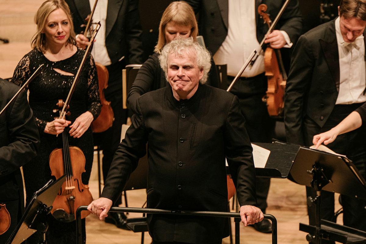 Lisa Batiashvili, Elsa Dreisig, Pavol Breslik, David Soar, Simon Rattle, London Symphony Orchestra,  Elbphilharmonie Hamburg, 18. Februar 2020