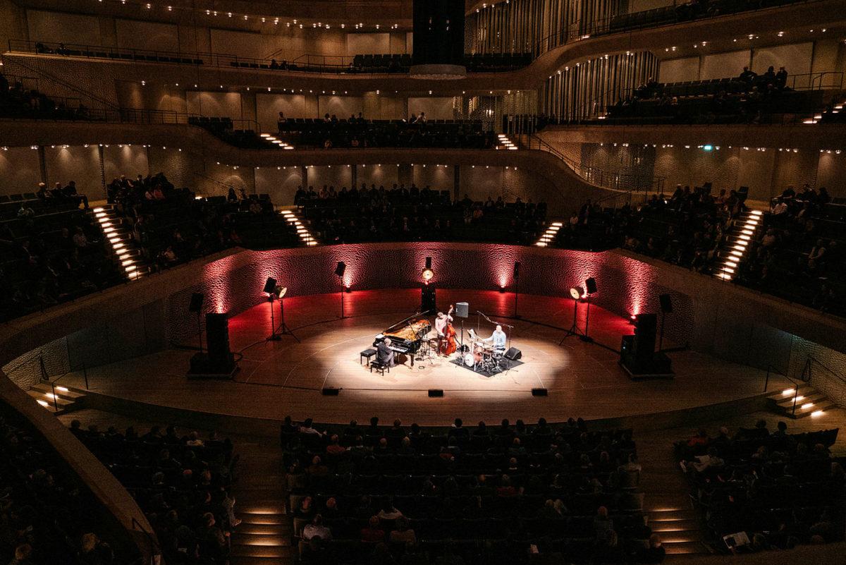 Brad Mehldau Trio,  Elbphilharmonie Hamburg, 12. März 2020