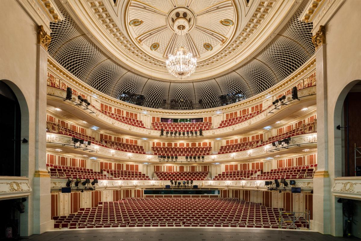 Die Staatsoper Unter den Linden eröffnet am 3. Oktober 2017,  Staatsoper Unter den Linden