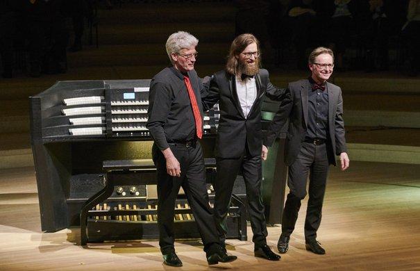 Orgelkonzert, Thomas Cornelius, Thomas Dahl, Manuel Gera,  Elbphilharmonie Hamburg, 2. März 2019