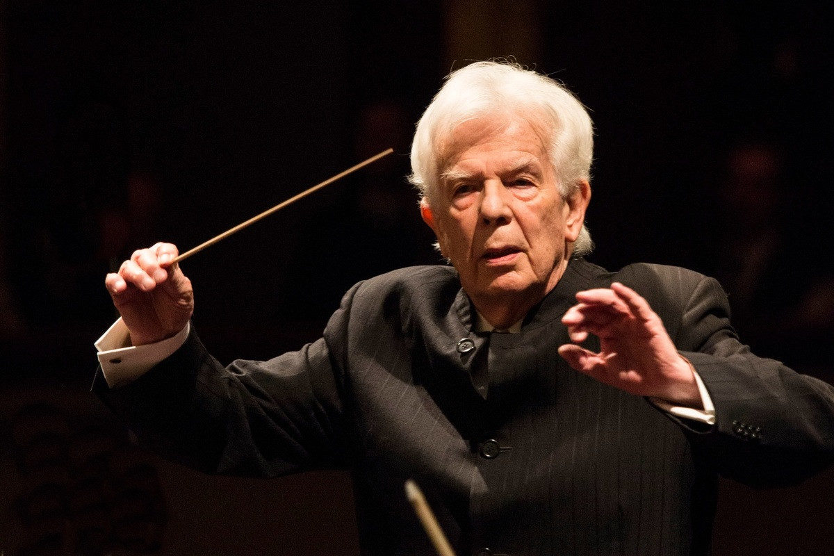 Christoph von Dohnányi, NDR Elbphilharmonie Orchester,  Elbphilharmonie, 17. Januar 2020