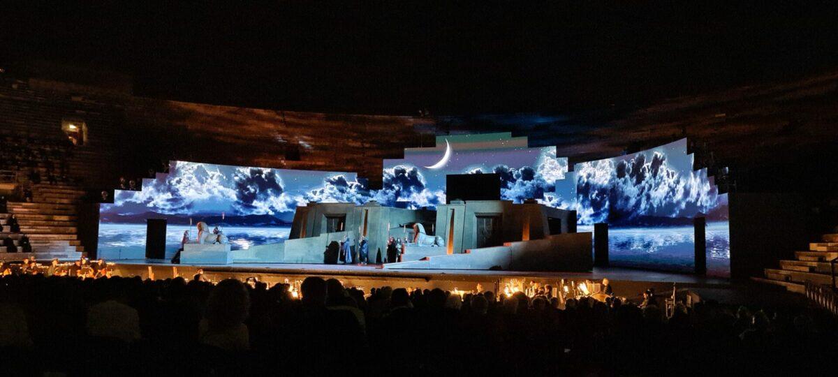 "Giuseppe Verdi, ""Aida"", Arena di Verona, 27. August 2021"