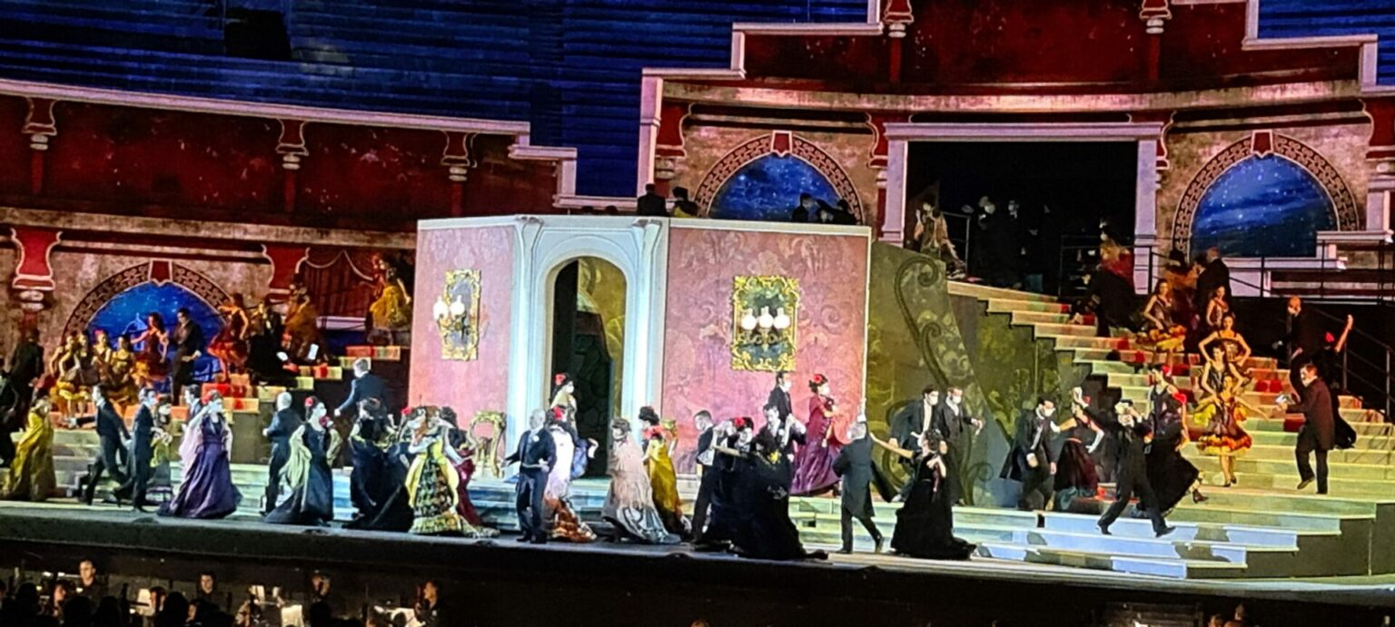 Giuseppe Verdi, La Traviata, Arena di Verona, 02. September 2021