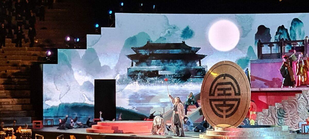 "Giacomo Puccini ""Turandot"" Arena di Verona 03. September 2021"