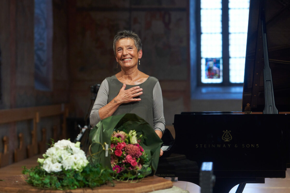 Maria João Pires, Rezital,  Gstaad Menuhin Festival & Academy, 27. August 2021