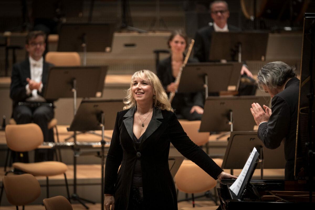 Rundfunk-Sinfonieorchester Berlin, Georg Nigl, Tamara Stefanovich, Vladimir Jurowski  Philharmonie Berlin, 4. September 2021