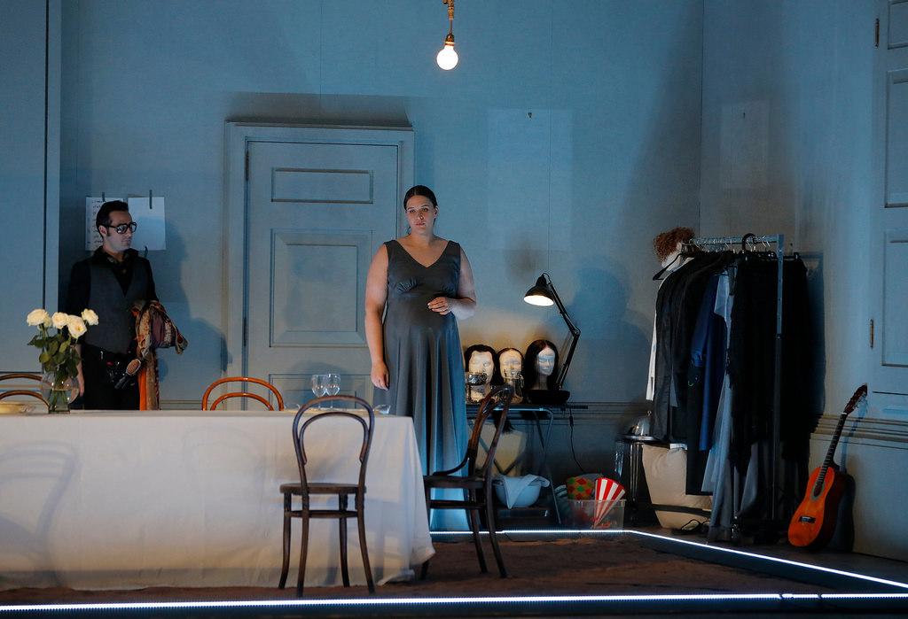 Richard Strauss, Ariadne auf Naxos,  Festival d'Aix-en-Provence, Théâtre de l'Archevêché, Aix-en-Provence