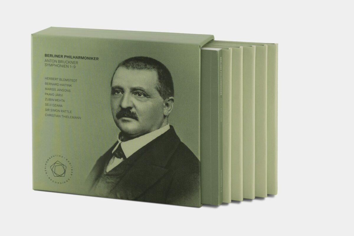 CD- Rezension: Anton Bruckner, Symphonien 1-9,  Berliner Philharmoniker