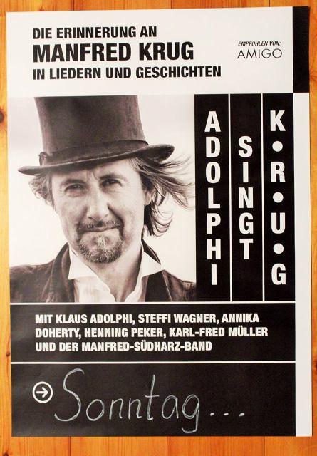 Cole Porter und Manfred Krug, Moritzburg Open Air  Konzerte in Halle