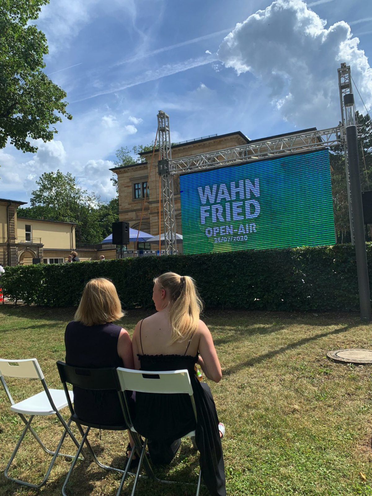 Wahnfried Open Air,  Bayreuther Festspiele, 25. Juli 2020