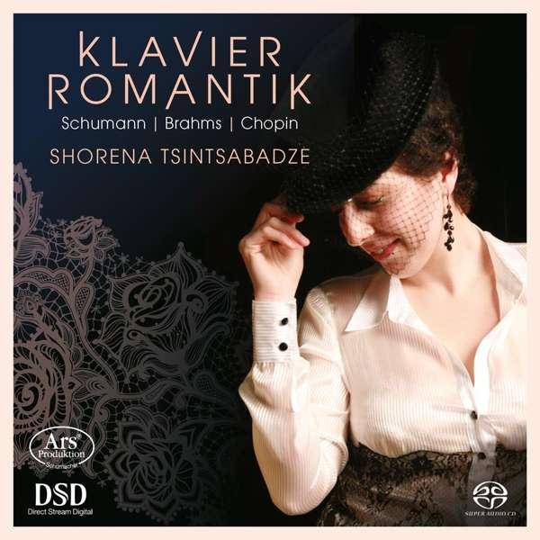 CD-Rezension: Klavier Romantik. Schumann/ Brahms/ Chopin, Shorena Tsintsabadze