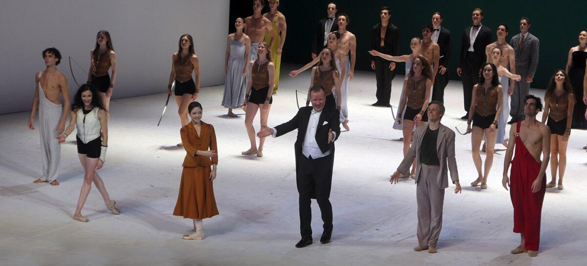 Sylvia, Ballett von John Neumeier, die zweite Besetzung  Hamburgische Staatsoper, 11. September 2021
