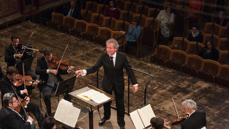 Wiener Philharmoniker, Franz Welser-Möst  Musikverein Wien, 18. April 2021