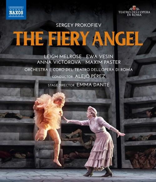 DVD-Rezension: Sergey Prokofiev, The Fiery Angel,  Orchestra e Coro del Teatro dell'Opera di Roma, Alejo Perez, Emma Dante
