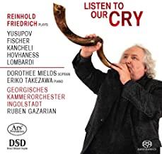 CD-Besprechung, Reinhold Friedrich, Listen to our cry , klassik-begeistert.de