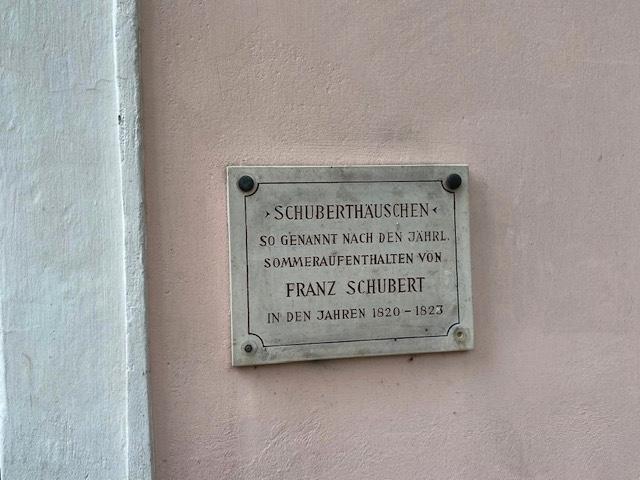 Lieses Klassikwelt 55, das Schubert-Häuschen in Atzenbrugg  klassik-begeistert.de