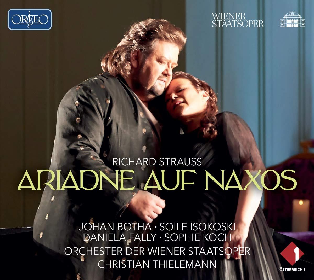 Richard Strauss, Ariadne auf Naxos, Orchester der Wiener Staatsoper, Christian Thielemann,  CD-Besprechung