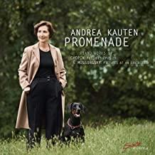 CD Besprechung, Andrea Kauten, Promenade  klassik-begeistert.de