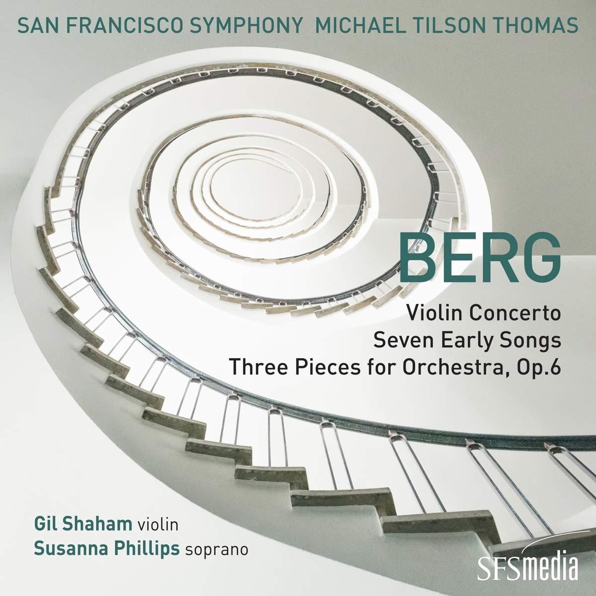 CD-Rezension: BERG, San Francisco Symphony, Michael Tilson Thomas